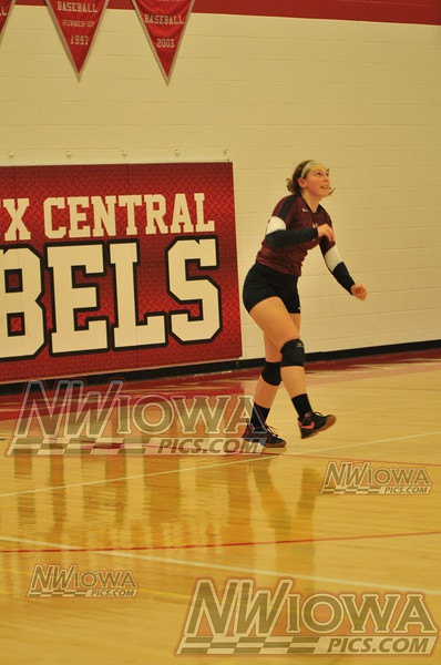 10/31/2014 vs Sioux Central 2nd round Tournement