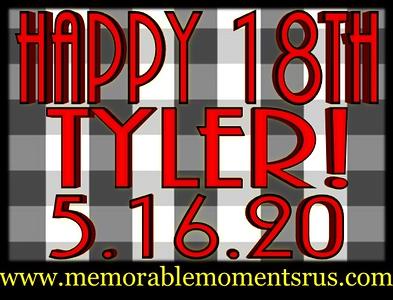 Tyler's 18th Birthday