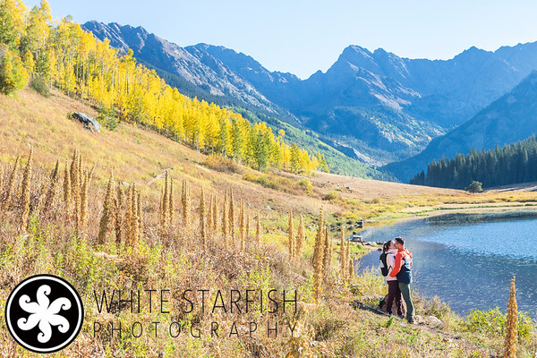 Vail Proposal Photos - Piney Lake - Dykman
