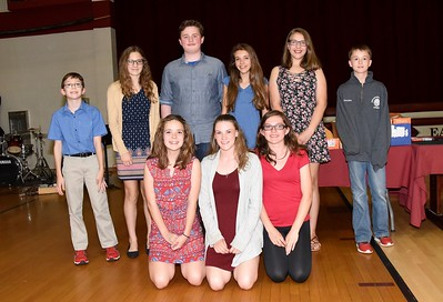2017 AMHS Academic/Athletic Awards Night photos by Gary Baker