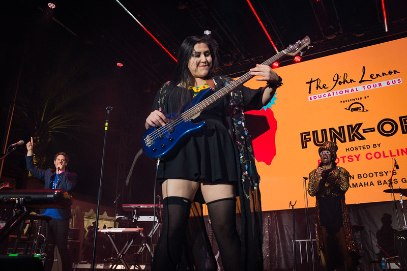 2018_01_27, Anaheim, bootsy collins, CA, funk off, imagine party, matt reich, NAMM, runner up, yamaha, owc,