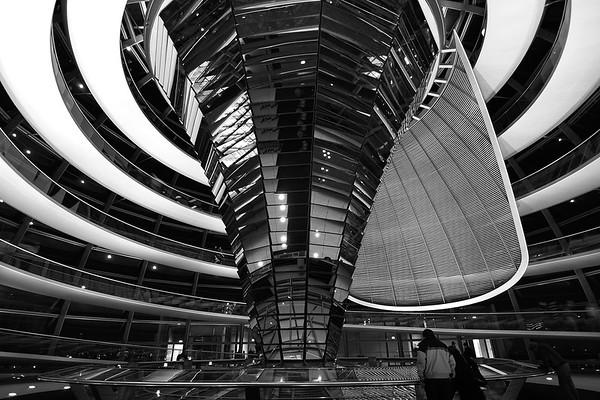 Cúpula del Reichstag de noche
