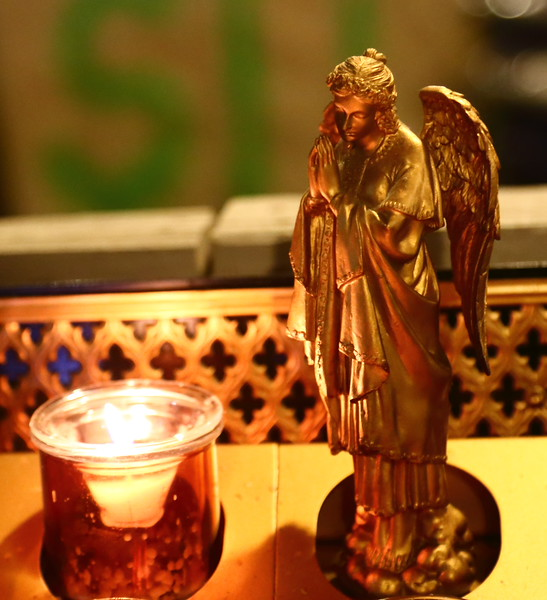 Angel at Saint Patricks