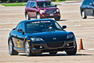 Sports Car Autocross at Pennington Field 07-11-10