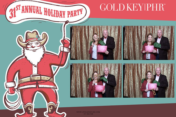 Golden Key Holiday Party