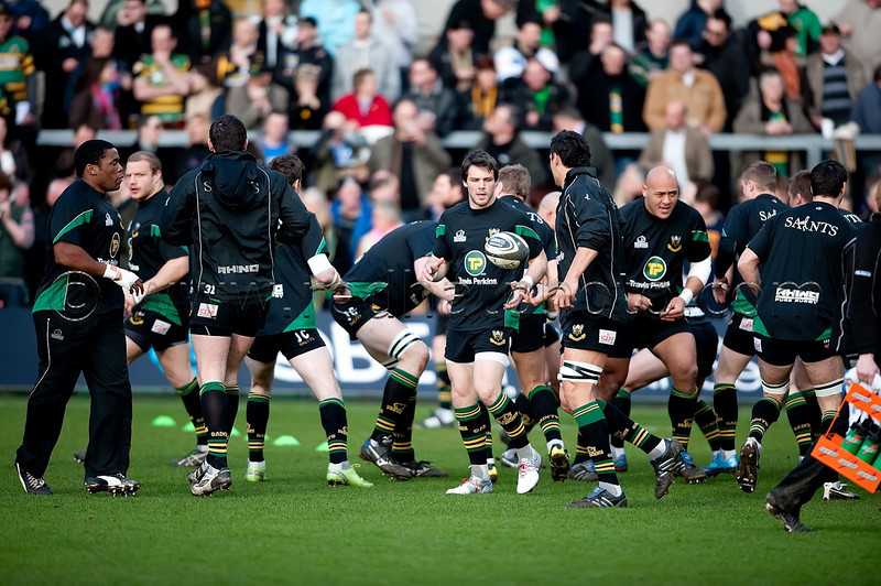 Northampton Saints vs London Wasps, Guinness Premiership, Franklin's Gardens, 27 March 2010