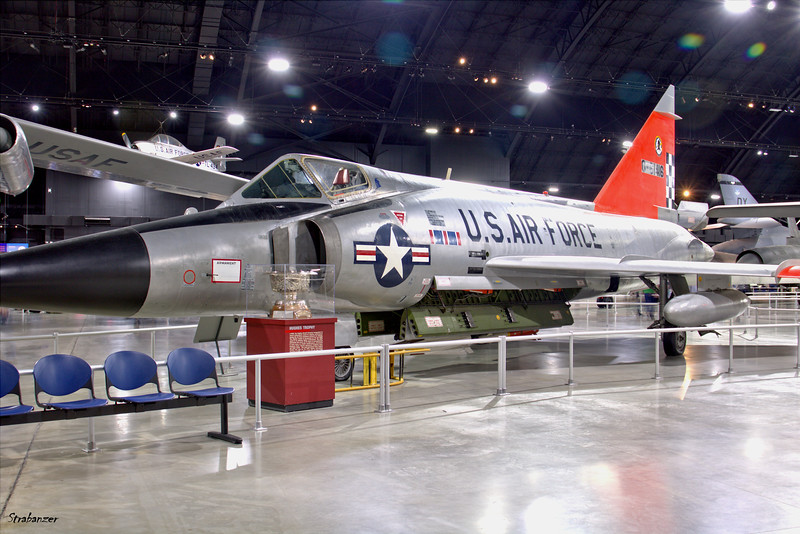 National Museum of the United States Air Force, Dayton, Ohio,   04/12/2019  Convair F-102A Delta Dagger  c/n 8-10-363   56-1416  This work is licensed under a Creative Commons Attribution- NonCommercial 4.0 International License.