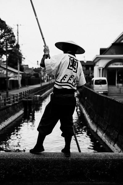 Yanagawa Boat Man
