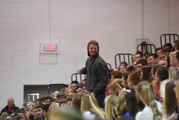 Student Crowd - Winter Pep Rally