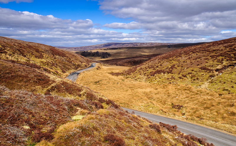 Trough of Bowland in Lancashire