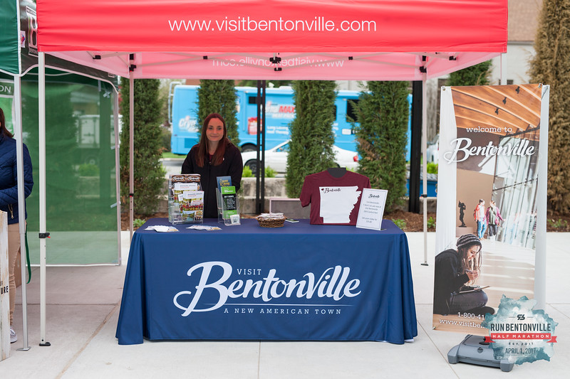 Community members and Bentvonille Half race participants came to enjoy the Runner's Health & Wellness Expo featuring vendors geared toward runners and fitness enthusiasts and included guest speaker, and runner, Dick Beardsley.
