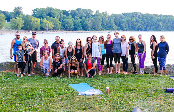Prana Yoga Edgewater Sunset CLE