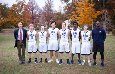Junior Varsity Boys Basketball 2018
