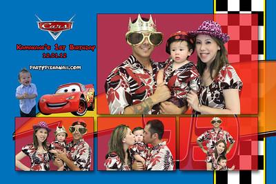 Kamakana's 1st Birthday (Multi-Photo Collage)