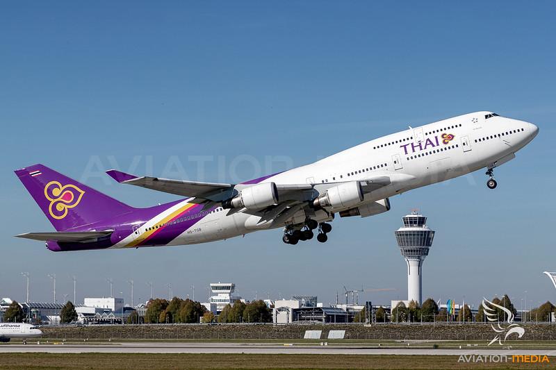 Thai AIrways / Boeing 747-400 / HS-TGB