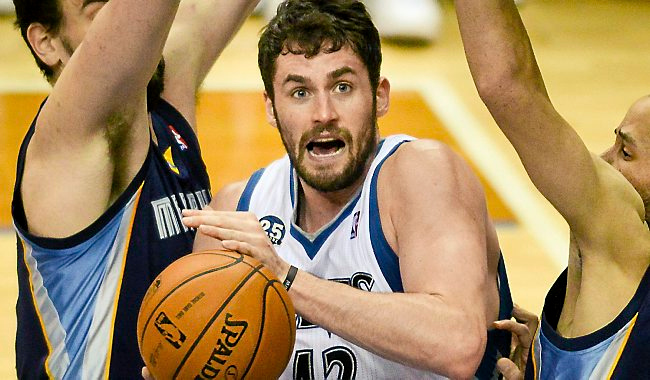 """. <p><b> Saturday, August 23, will be a pivotal day for the Minnesota Timberwolves, because on that date they will be � </b> </p><p> A. Transformed by the Kevin Love-Andrew Wiggins trade </p><p> B. Mathematically eliminated from the 2014-15 playoff race </p><p> C. All of the above </p><p><b><a href=\""""http://www.twincities.com/timberwolves/ci_26311273/andrew-wiggins-wants-trade-timberwolves-self-says\"""" target=\""""_blank\"""">LINK</a></b> </p><p>   <br> </p><p><b>ANSWERS</b> </p><p> The correct answer is always \""""A\"""" ... unless you feel very strongly otherwise. </p><p>   <br></p><p> You can follow Kevin Cusick at <a href=\""""http://twitter.com/theloopnow\"""">twitter.com/theloopnow</a>.   </p><p>(Pioneer Press: Ben Garvin)</p>"""