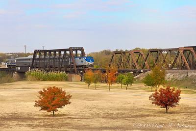 Amtrak, Fall Trees 11-22-08