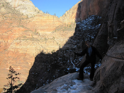 Hidden Canyon, Zion NP UT - 1/17/2014