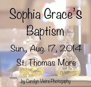Sophia's Baptism