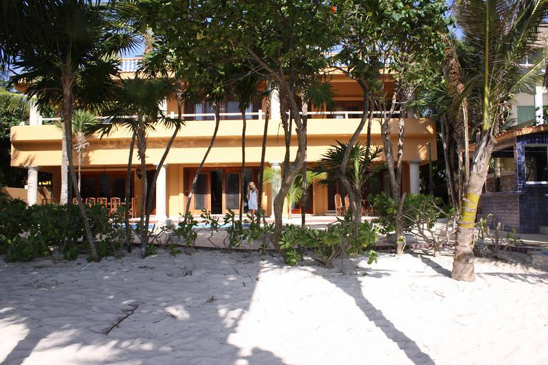 rear of Casa Yardena