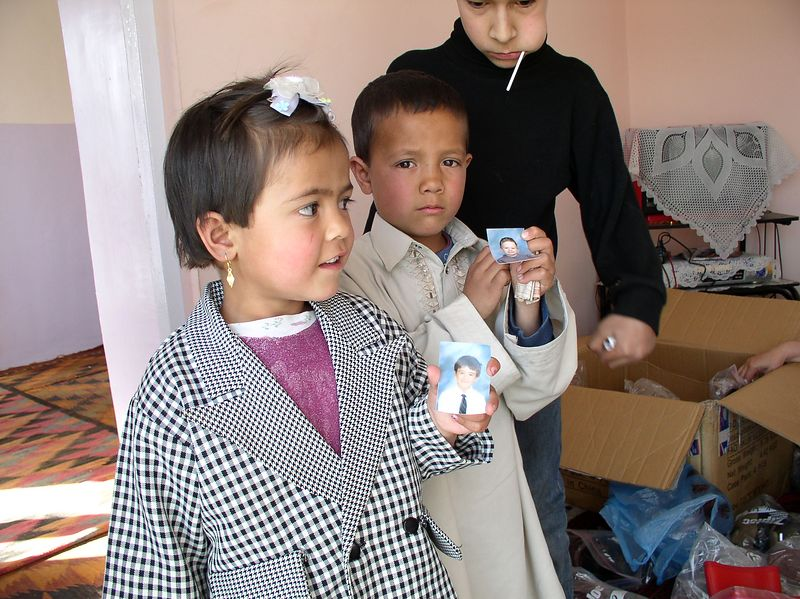 Woods' students - look here, you are making a difference to these children in Kabul.