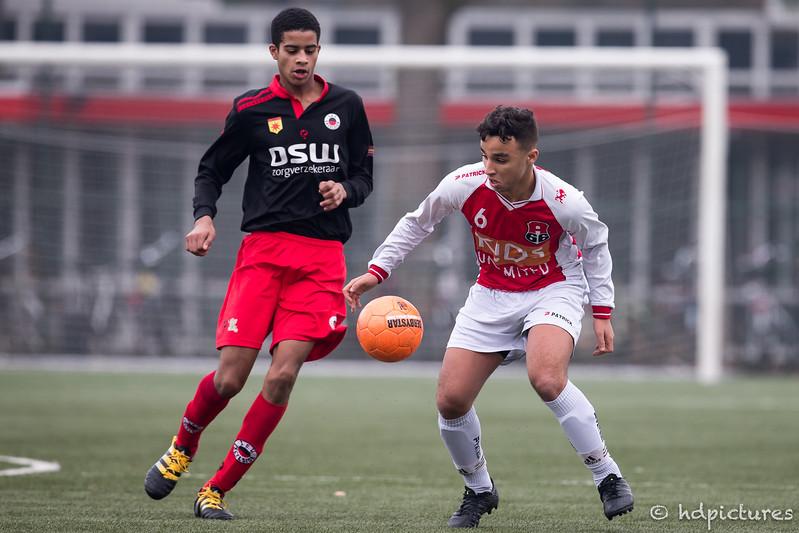 18-02-2017: Voetbal: Excelsior O19-2 v Alexandria'66 O19-2: Rotterdam Seizoen 2016/2017