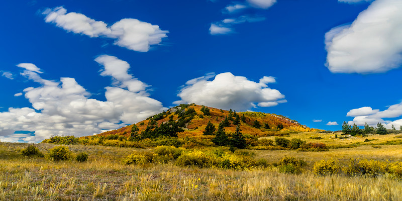 South Sandia Peak Fall Color