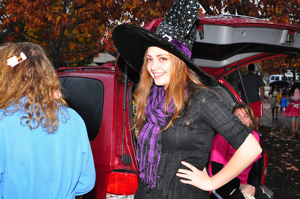 Halloween Trunk or Treet 2012