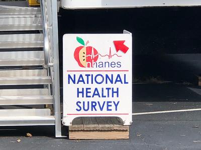 National Health & Nutrition Examination Survey mobile van October 21, 2019