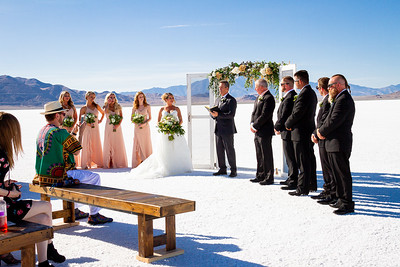 Skydive Wedding - Bonneville Salt Flats, UT