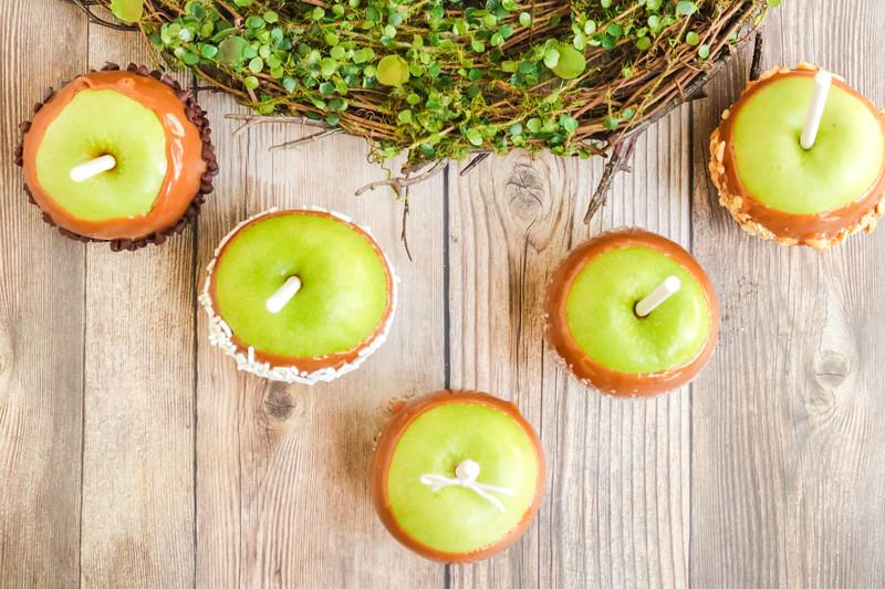 caramel apples for fall