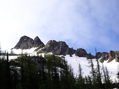 Liberty Bell, Beckey Route, 7-8-07