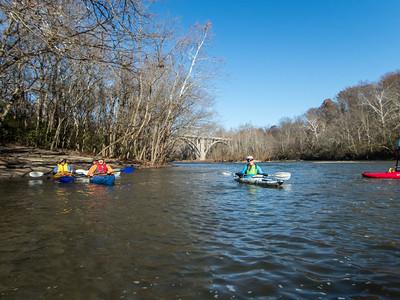 Kayaking to Loveland Castle with Cincypaddlers
