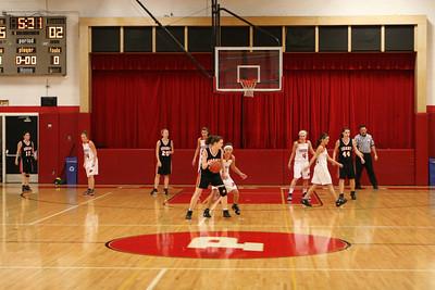 Girls Varsity Basketball - 2009-2010 - 1/8/2010 Grant