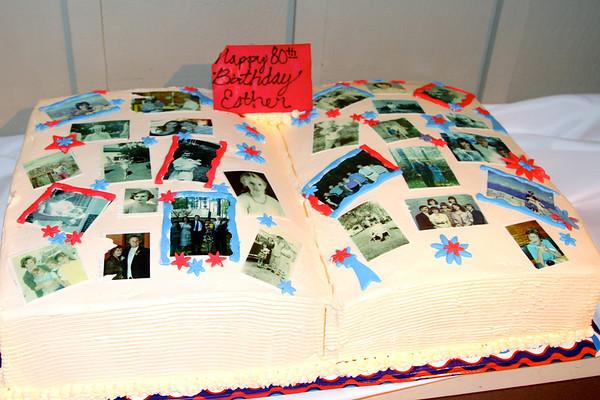 Esther Guertin's 80th Birthday Celebration
