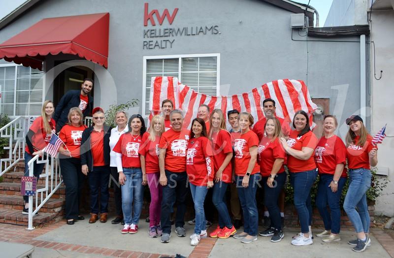 Keller Williams staff and friends
