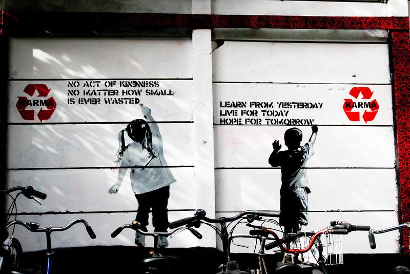 Graffiti, Amsterdam