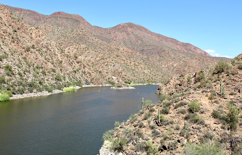 The Salt River below Roosevelt Dam (2018)