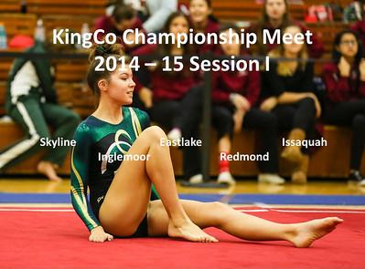 KingCo Championship Gymnastics Meet Session I @ Newport