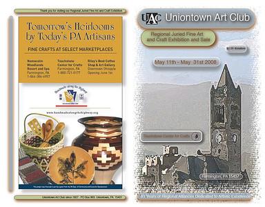 2008 Uniontown Arts Club Show Catalog