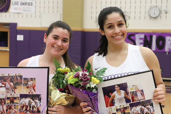 Jan. 23, 2019 Girls Basketball Sr Night