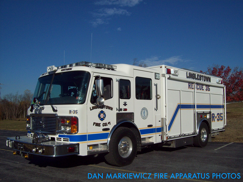 LINGLESTOWN FIRE CO. RESCUE 35 2006 AMERICAN LA FRANCE HEAVY RESCUE