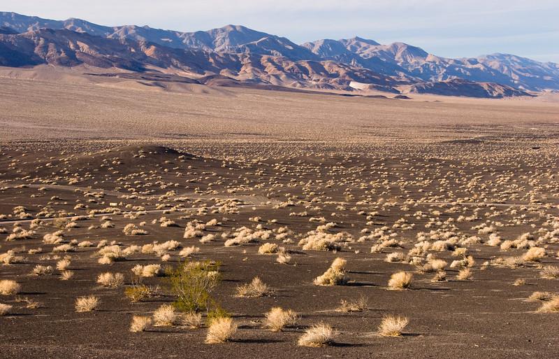 Desert landscape near Ubehebe