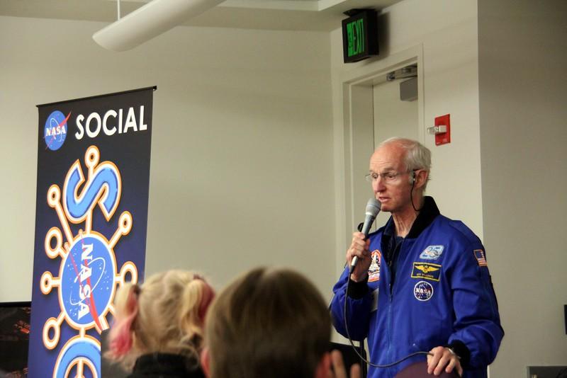 Former astronaut Don Williams
