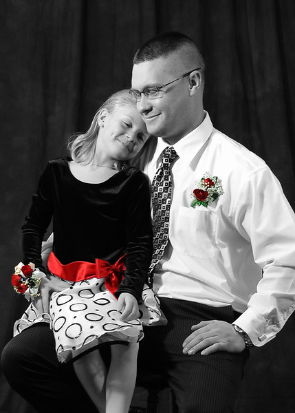 Before the Daddy Daughter Dance 2/4/12 & 2/4/17