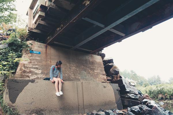 2018-07 - Under the bridge