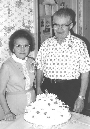 Florence & Dominic Sciola 50th Wedding Anniversary