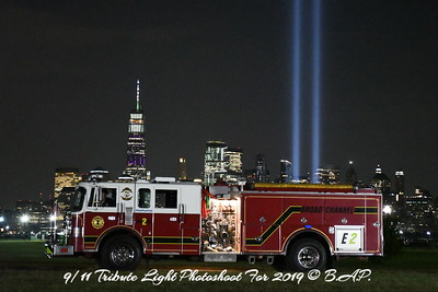 The 9/11 Tribute Light Photoshoot for 2019