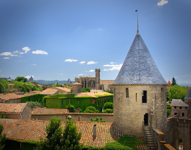 Castle in Carcasonne