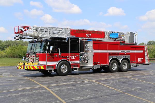 Bensenville FPD Ladder 107